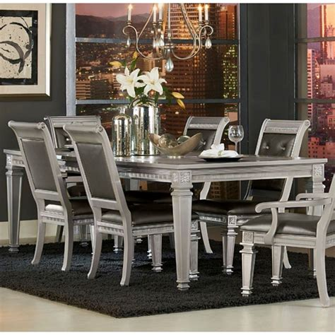 Glam Dining Table And Chairs
