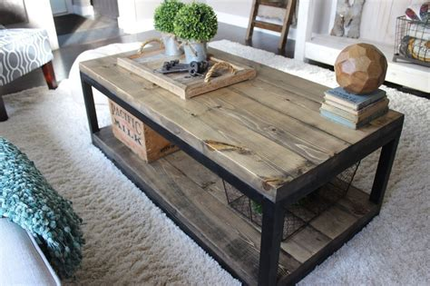 Glass And Wood Coffee Table Diy Pinterest