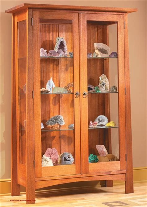 Glass Display Cabinet Plans