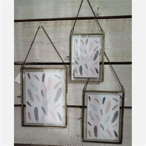 Glass Hanging Frame Diy