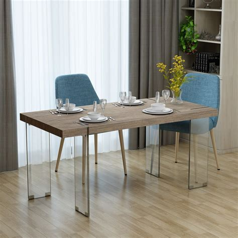 Glass Or Wood Dining Table Plans
