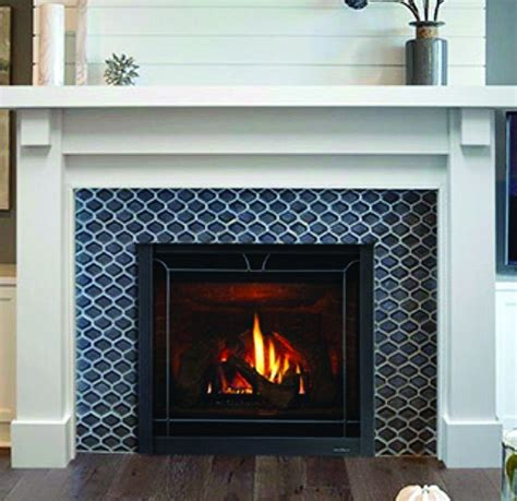 Glass Tile Fireplace Surround Designs