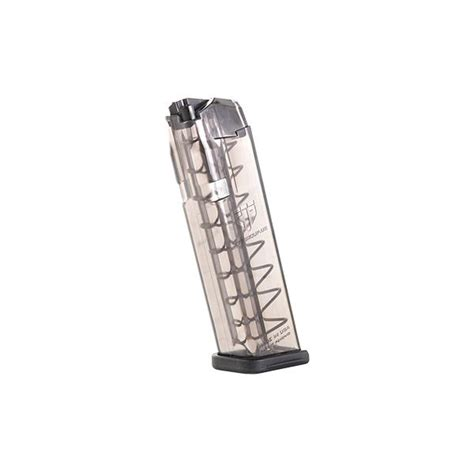 Glock 17 Clear Magazine And Glock 17 Decal Grip Rubber