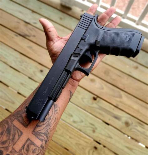Glock 22 Long Barrel And Glock 26 9mm Magazines For Sale