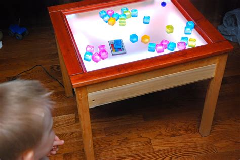 Glow Table Diy