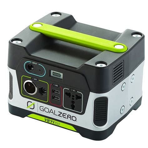 Goal Zero Yeti 150 Solar Generator Power Pack  Leisure Outlet.