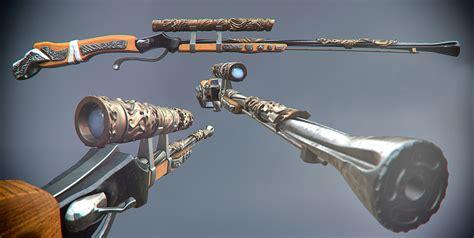 Goblin Sniper Rifle And Halo Sniper Rifle Shooting Gif
