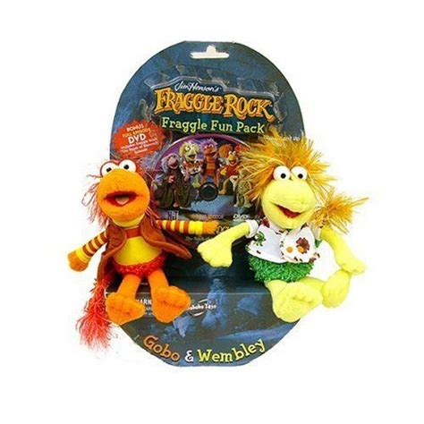 Gobo and Wembley Fraggle Fun Pack with DVD