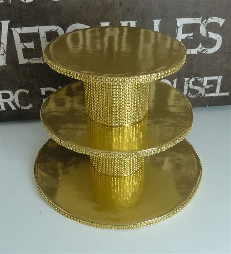 Gold Cake Stand Diy Square Box