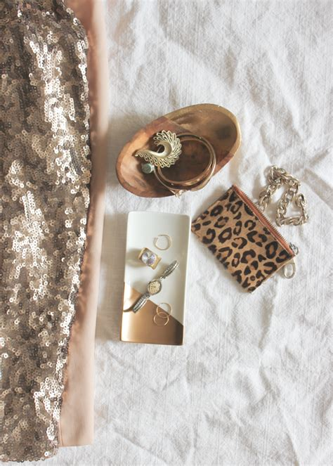 Gold Dipped Diy Jewelry Tray