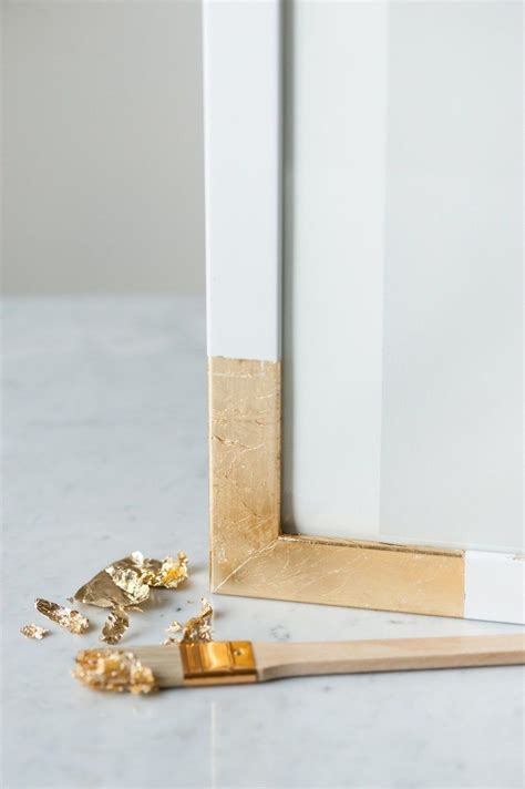 Gold Leafing Frames Furniture Diy