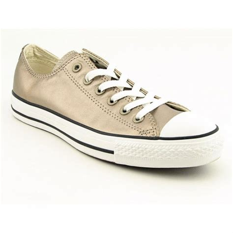 Gold Metallic Converse Sneakers