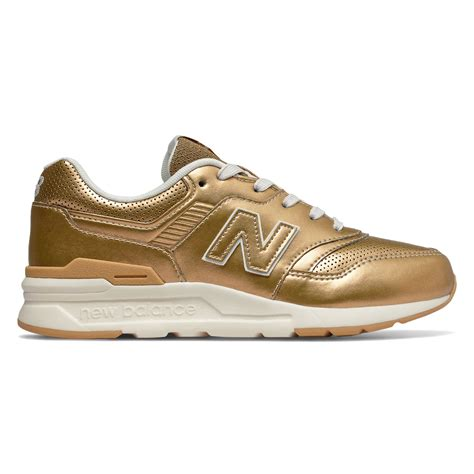 Gold New Balance Sneakers For Kids