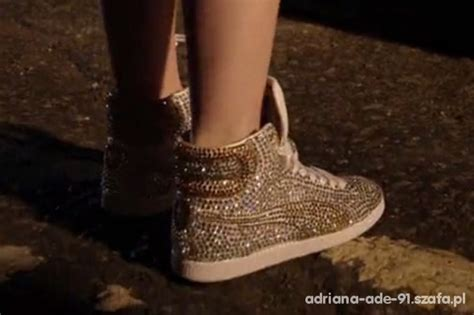 Gold Puma Sneakers Carly Street Dance