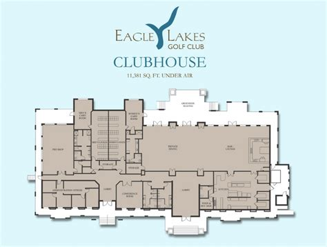 Golf Clubhouse Design Plans