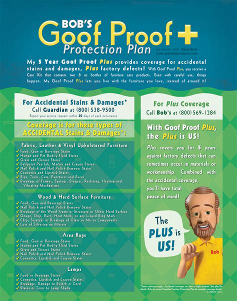 Goof Proof Plus Furniture Protection Plan