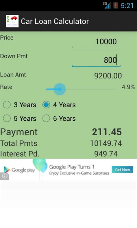 Google Car Payment Calculator With Interest