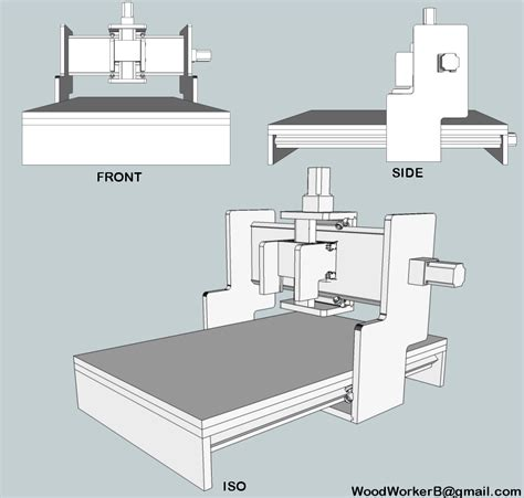 Google Sketchup Cnc Plans