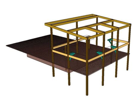 Google-Sketchup-Plans-For-Diy-End-Tables-Coffee-Table