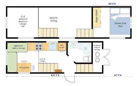 Gooseneck-Tiny-House-Floor-Plan