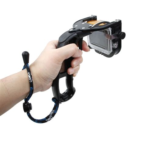 Gopro Selfie Stick With Trigger And Pinion Trigger Shifter