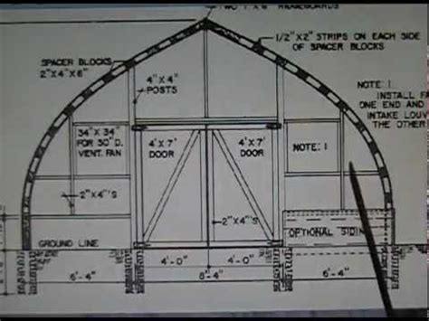 Gothic-Arch-Wood-Greenhouse-Plans