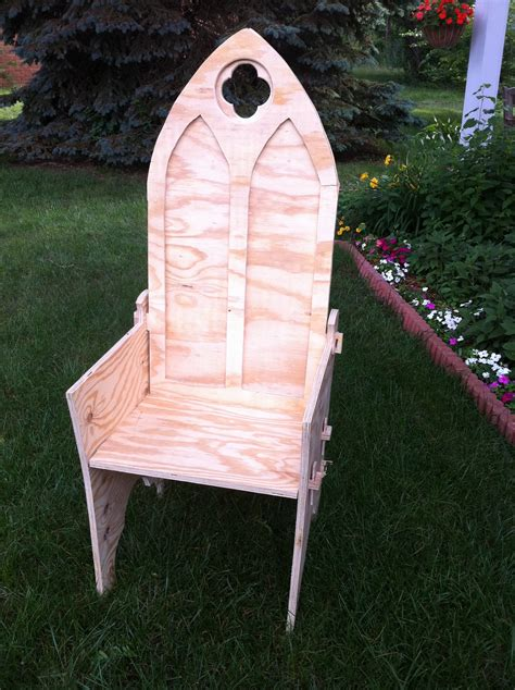 Gothic-Chair-Plans