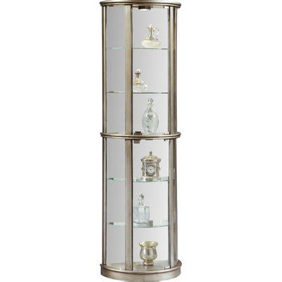 Gracelyn Lighted Curio Cabinet By Willa Arlo Interiors