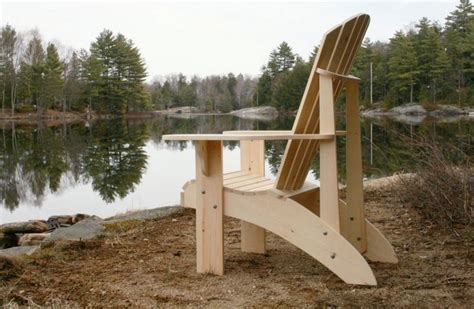 Grandpa Adirondack Chair Woodworking Plans