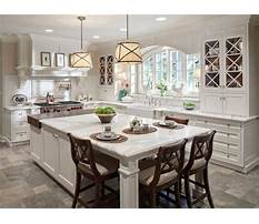 Best Granite kitchen islands with seating for 4