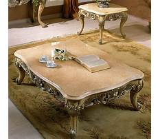 Best Granite top coffee and end tables
