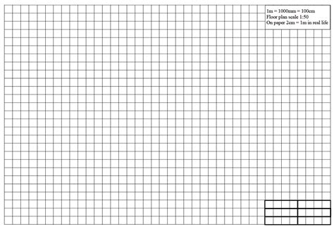 Graph Paper For Floor Plans Printable