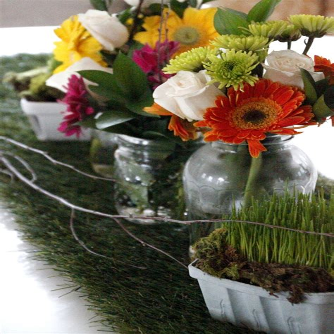 Grass-Table-Runner-Diy