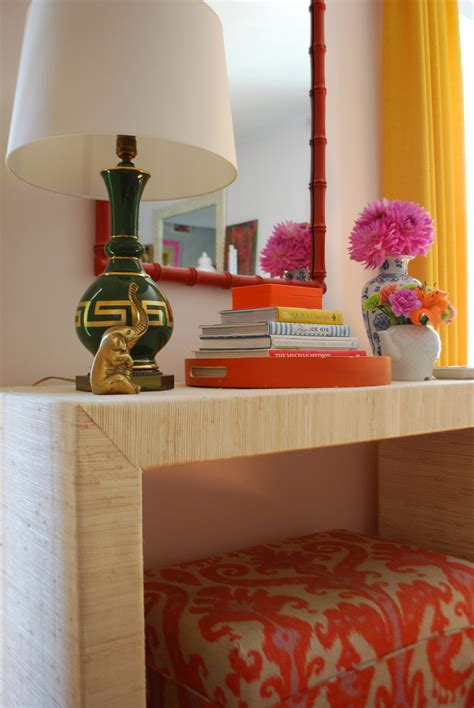 Grasscloth-Console-Table-Diy