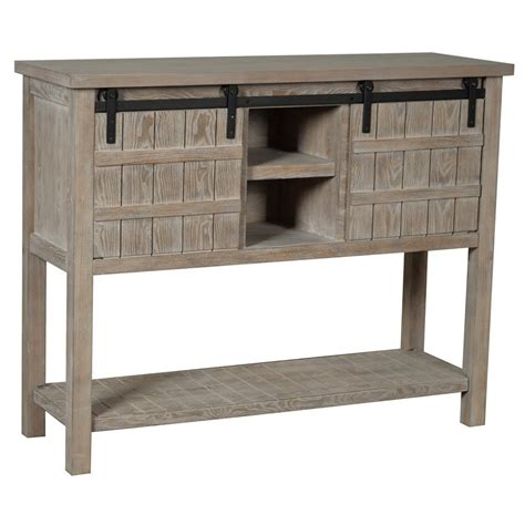 Gray-Farmhouse-Console-Table
