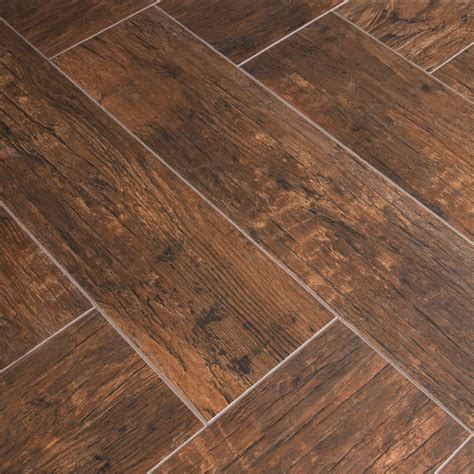 Gray-Tile-With-Mahgony-Woodwork