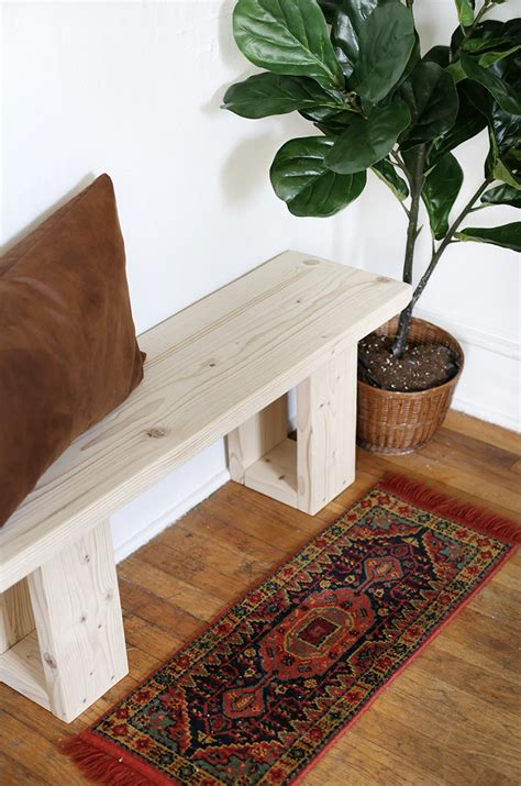 Great Diy Wood Bench