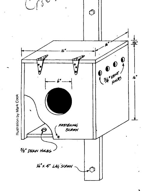 Great Horned Owl House Plans Massachusetts