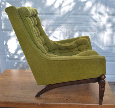 Green Accent Chair Wood Antique Diy