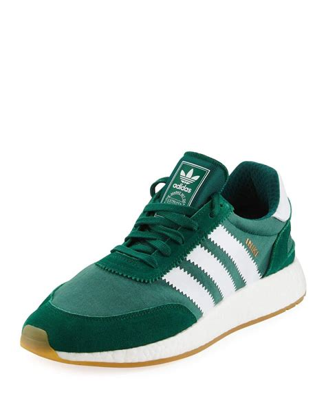 Green Adidas Sneakers Mens
