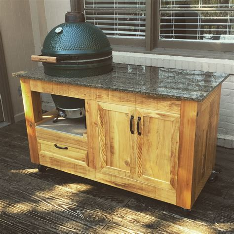 Green Egg Table Plans With Cabinets