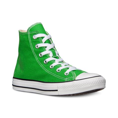Green Mens Converse Sneakers