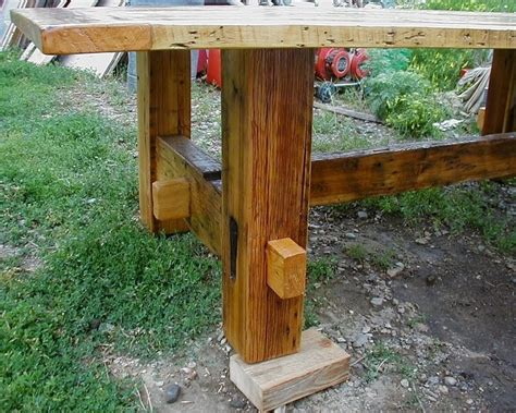 Green Woodworking Mortise And Tenon