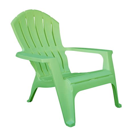 Green-Adult-Plastic-Adirondack-Chairs