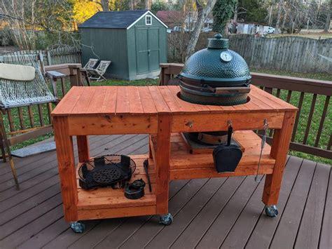 Green-Egg-Grill-Cart-Plans