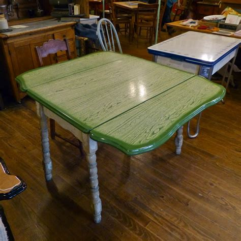 Green-Woodworking-Table