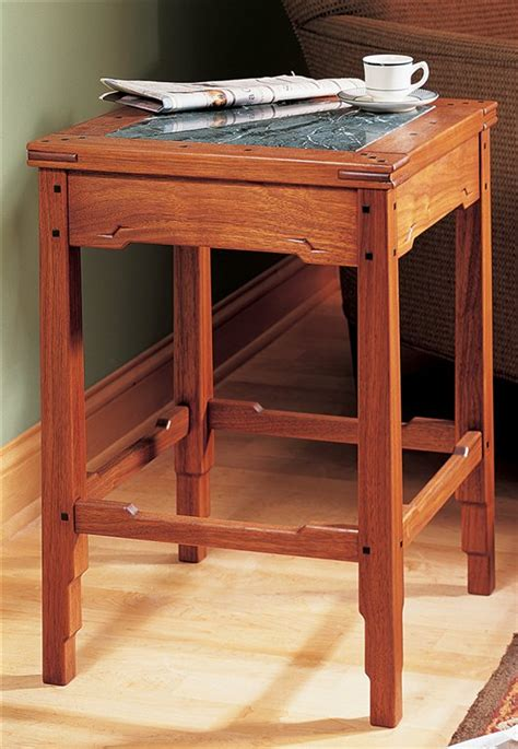 Greene And Greene Side Table Plans