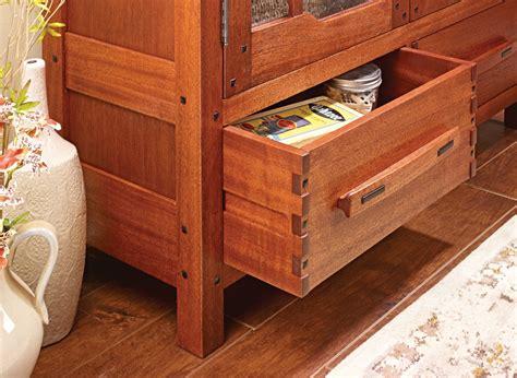 Greene-And-Greene-Bookcase-Plans
