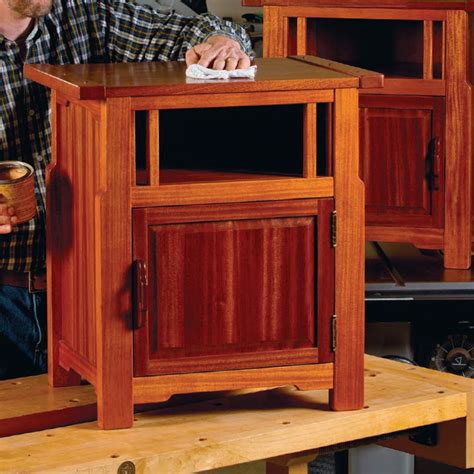 Greene-And-Greene-Nightstand-Plans