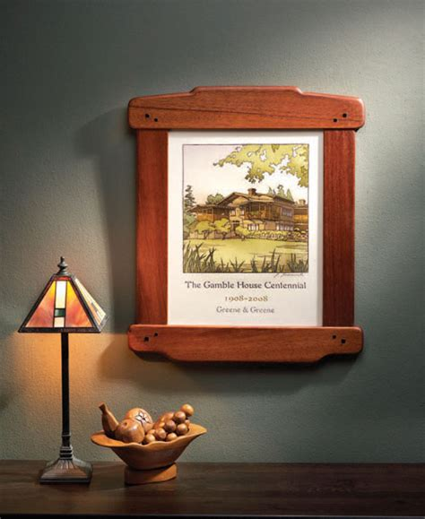 Greene-And-Greene-Picture-Frame-Plans